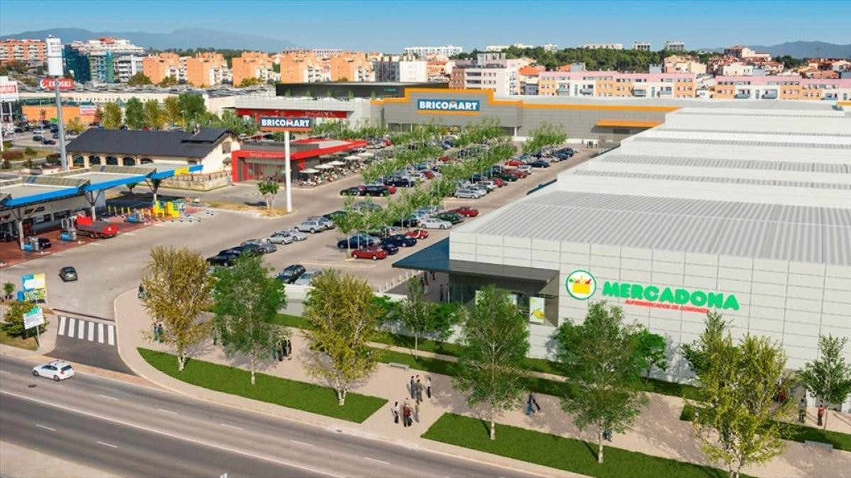 Imagen del centro comercial Terrassa Plaça.