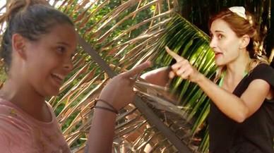 Alba Carrillo y Gloria Camila, en pleno enfrentamiento en 'Supervivientes'