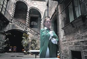 Bárbara Senillosa, en el Palau Dalmases, que acoge conciertos de lírica en pequeño formato.