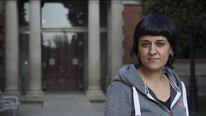 """Anna Gabriel: """"A les dones de la CUP ens insulten per la nostra ideologia"""""""