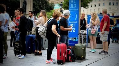 Hotelers de Barcelona miren de calmar els turistes amb una carta