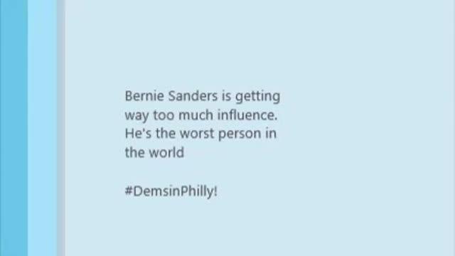 Wikileaks ataca de nou: publica 29 missatges de veu contra Sanders de seguidors del partit demòcrata nord-americà