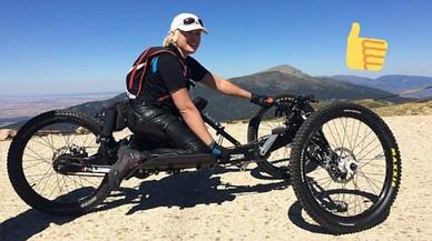 Arrestado el ladrón de la bicicleta de la atleta paralímpica Gema Hassen-Bey