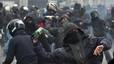 Disturbis a Milà en una marxa contra l'Exposició Universal