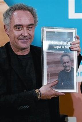Ferran Adri� presenta una gu�a de restaurantes de L'Hospitalet