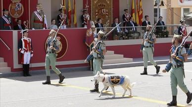 Unas 67.000 personas vieron el desfile de las Fuerzas Armadas en Catalunya