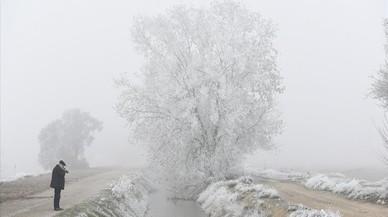 Els termòmetres es desplomen a la matinada a la Costa Brava