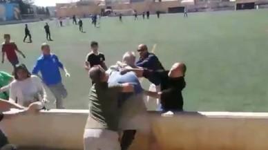 Batalla campal en un partit d'infantils a Mallorca