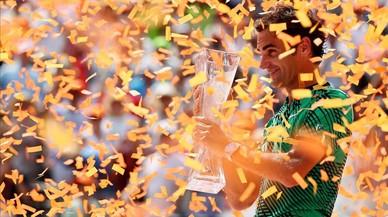 Nadal torna a caure davant Federer