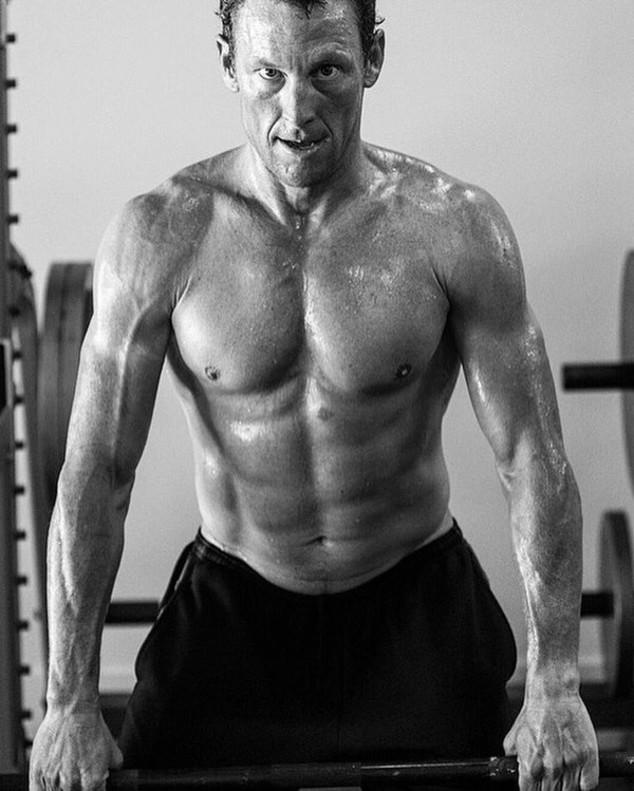 Lance Armstrong, durante un entrenamiento