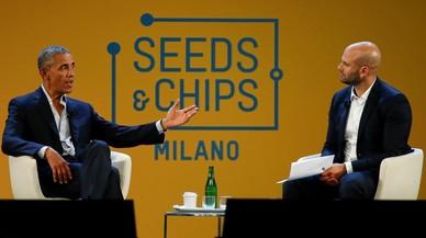 Obama abre fuego contra el hambre en Milán