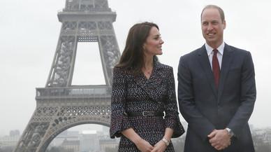 Los duques de Cambridge alaban en París el coraje de las víctimas del terrorismo