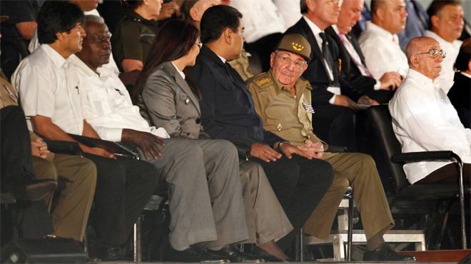 Mandatarios de todo el mundo asisten al homenaje de despedida a Fidel Castro