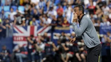 La Lliga denuncia càntics contra Luis Enrique a Leganés