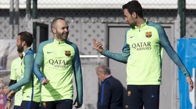 Iniesta i Busquets es queden fora de la cita del Barça contra l'Athletic
