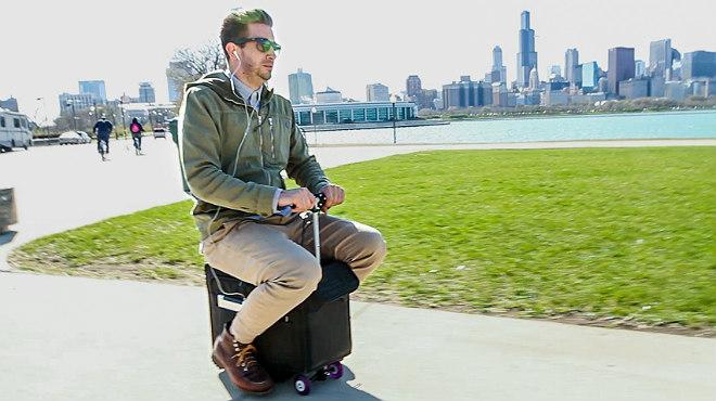 La maleta 'sube-que-te-llevo' y otros inventos 'techie' para viajar
