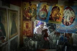 María Zapátskaya, de 78 años, trabajó codo con codo con los presos del Gulag.