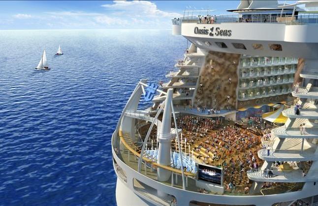 El 'Oasis of the Seas', el barco más grande del mundo, operará en Barcelona en el 2014