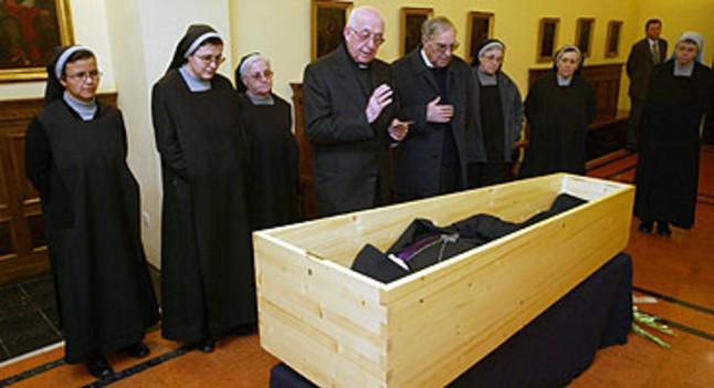 Muere cassi maria just el abad de montserrat adelantado a su tiempo - Tiempo olesa de montserrat ...