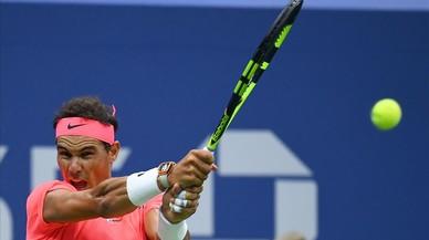 Rafa Nadal torna a patir però avança a l'Open dels EUA