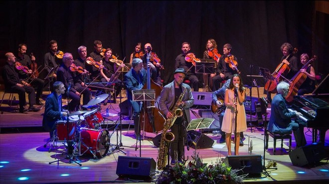 Andrea Motis & Joan Chamorro Group, con la ONCA.