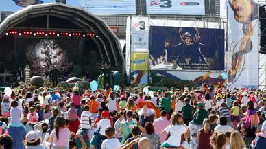 La Festa dels Súpers reúne a 40.000 personas en su primera jornada matinal
