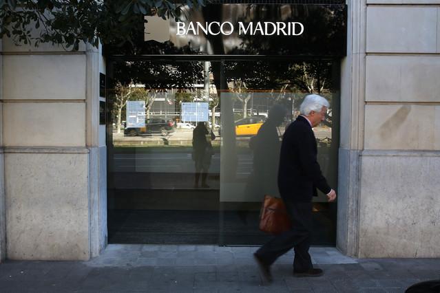 Banco madrid ser liquidado y los clientes solo recibir n for Oficinas banco madrid