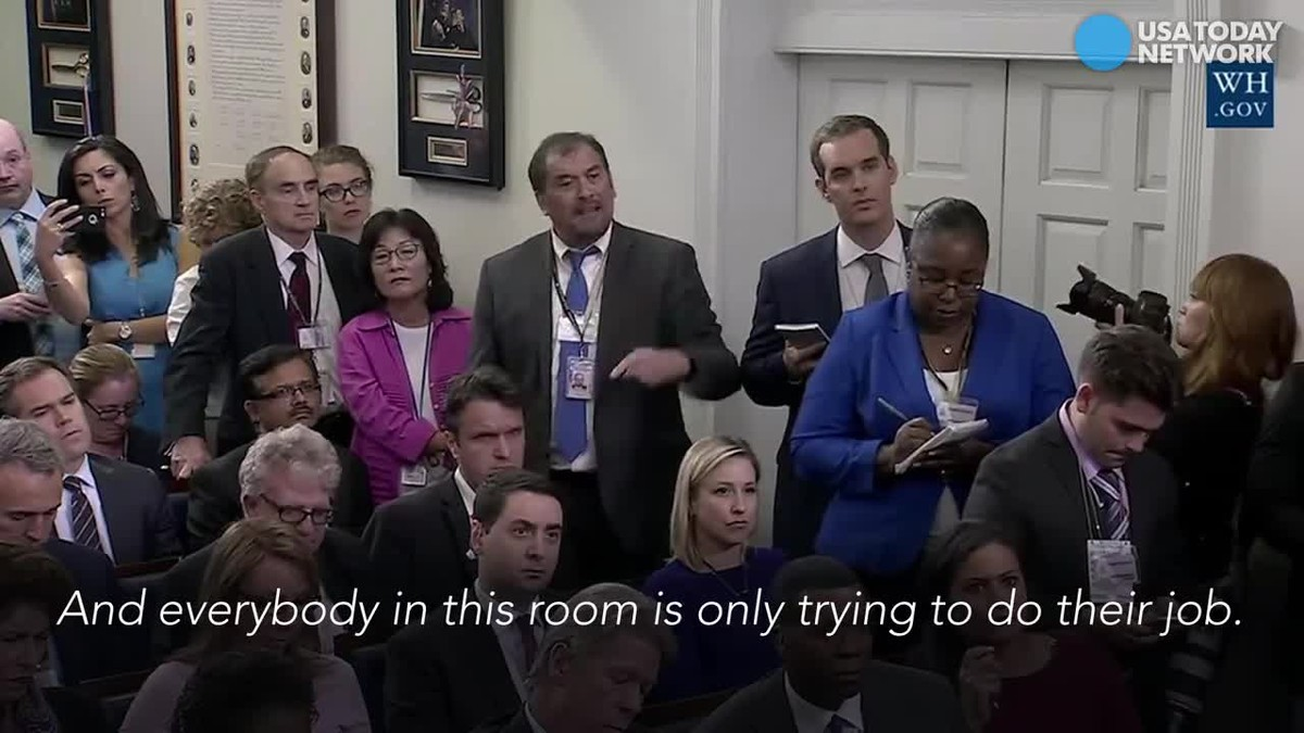 """""""¡Venga ya!"""" Así se encara un periodista con la portavoz de la Casa Blanca en plena rueda de prensa"""