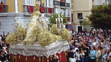 Podemos concede la Medalla de Oro de Cádiz a la Virgen del Rosario