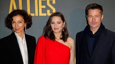 La bellesa misteriosa de Marion Cotillard viatja del braç de Brad Pitt