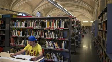 """""""Les biblioteques són llocs on connectar-se amb el món"""""""