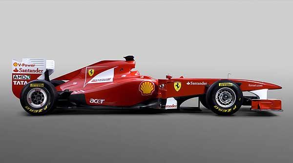 el nuevo coche de alonso: