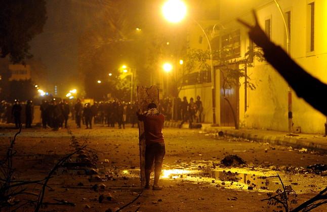 Tensi n en egipto tras una noche de violentos disturbios for Donde queda el ministerio del interior