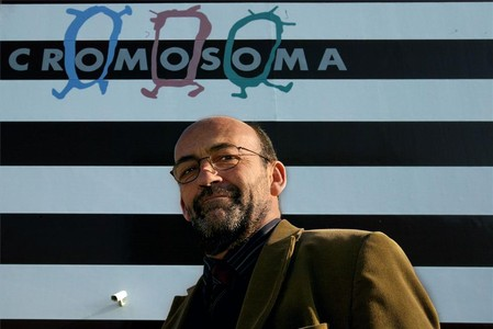 Oriol Ivern, productor cinematogrfico y fundador de Cromosoma, creadora de la serie de dibujos 'Les tres bessones'.