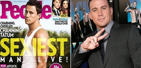 El actor Channing tatum protagoniza la portada de la revista 'People'.
