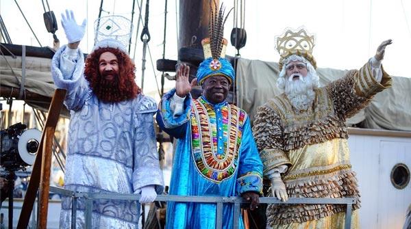 Melchor, Gaspar y Baltasar navegan ya hacia Barcelona.
