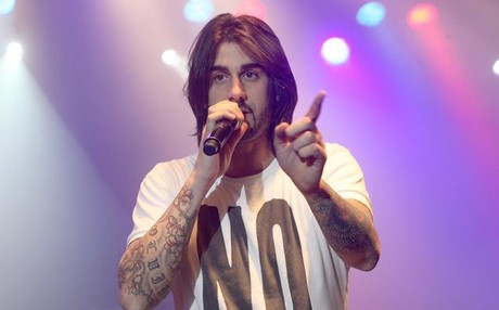 Melendi, el pasado diciembre en Razzmatazz.