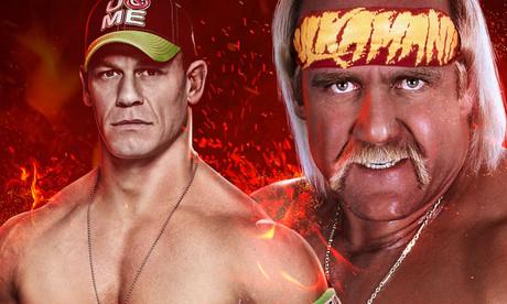 John Cena y Hulk Hogan, protagonistas de 'WWE 2K15'