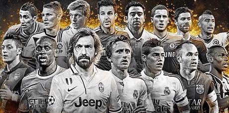 Los 15 centrocampistas candidatos a formar parte del once del a�o del FIFPro.