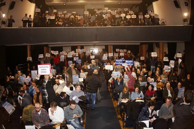 Pleno municipal de Pontevedra, que nombrará a Rajoy persona non grata