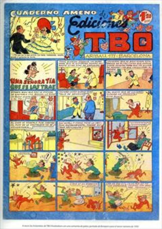 Eustaquio Morcillón y Babali TBO 100 años en 7 personajes La familia Ulises BENEJAM Dibujante ( 1890-1975)_MEDIA_2