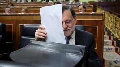 Rajoy a la corda fluixa
