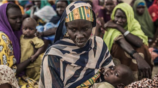 Desplazados del Chad. Video de Pablo Tosco Oxfam-Intermón