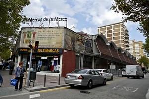 Exterior del mercado de la Mercè, cuya reforma parcial ha finalizado este año.