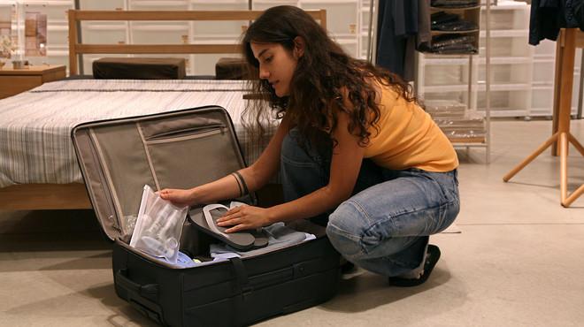 Les mides de l'equipatge de mà de les principals aerolínies