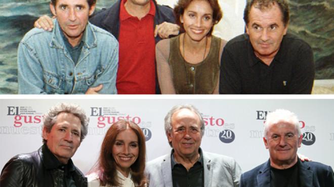 Víctor Manuel, Ana Belén, Serrat i Miguel Ríos, junts 20 anys després