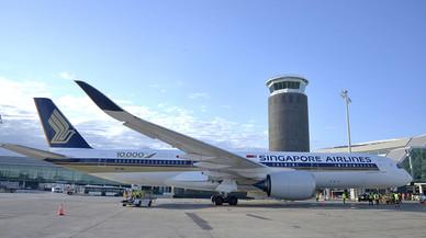 Singapore Airlines operarà dos vols directes entre Barcelona i Singapur