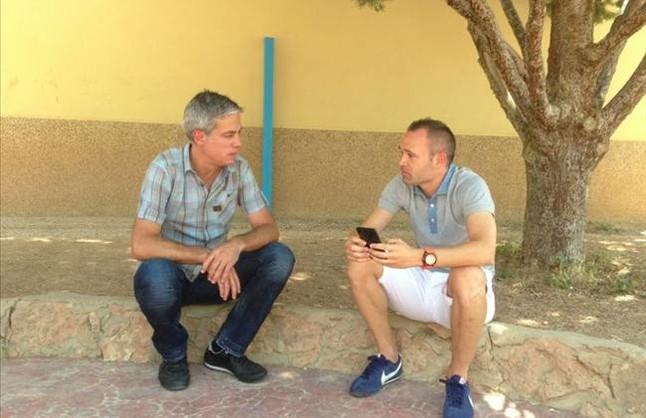 Iniesta abre la nueva temporada de 'El convidat'