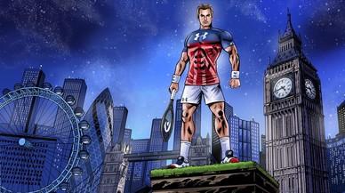 Andy Murray, un 'superhéroe' de carne y hueso