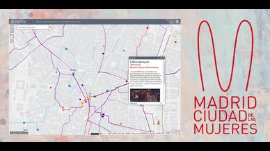Una app para recorrer Madrid siguiendo la huella femenina